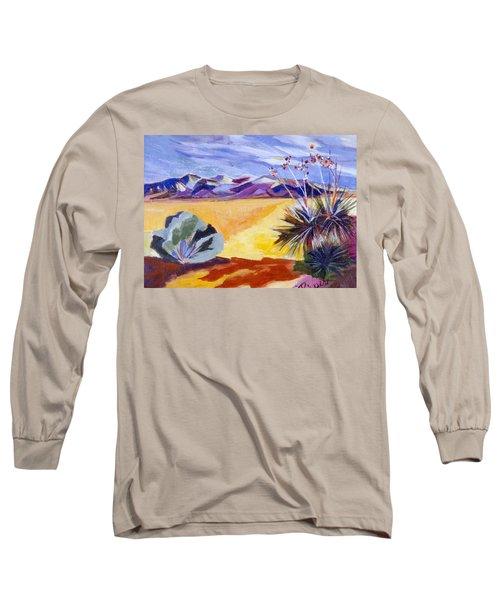 Desert And Mountains Long Sleeve T-Shirt