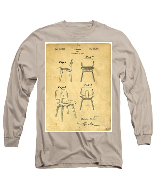 Designs For A Eames Chair Long Sleeve T-Shirt