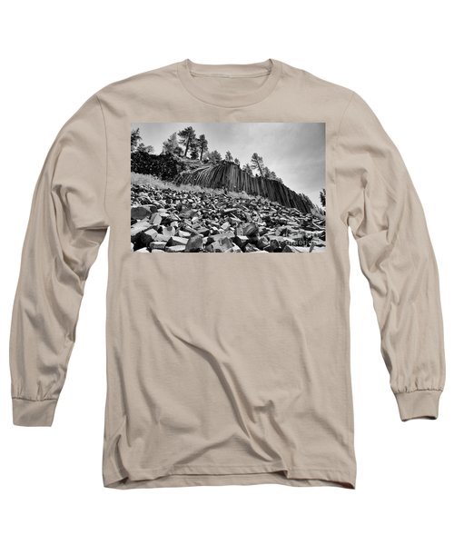 Devils Postpile National Monument Long Sleeve T-Shirt