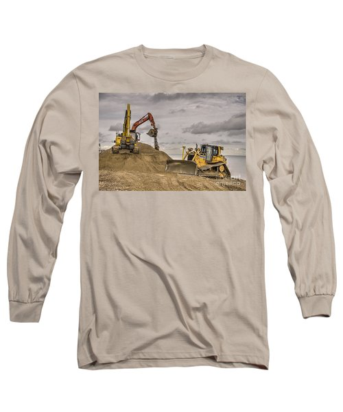 Digging And Dozing Long Sleeve T-Shirt