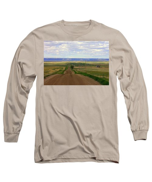 Dirt Road To Forever Long Sleeve T-Shirt