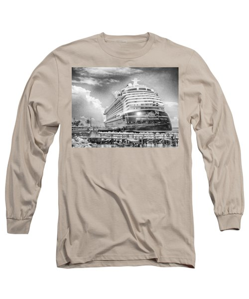 Long Sleeve T-Shirt featuring the photograph Disney Fantasy by Howard Salmon