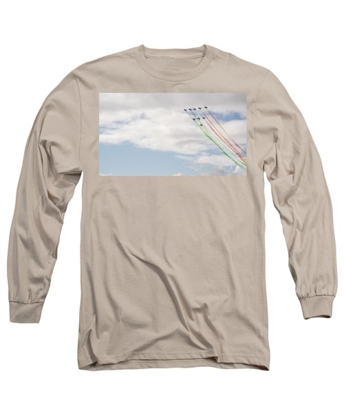 Displaying The Flag Long Sleeve T-Shirt