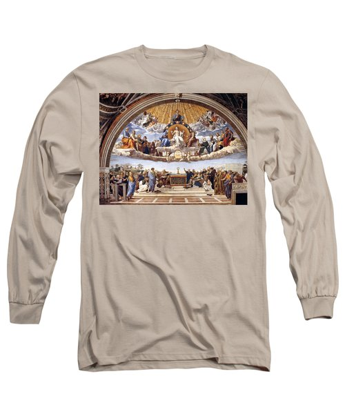 Disputation Of The Eucharist  Long Sleeve T-Shirt