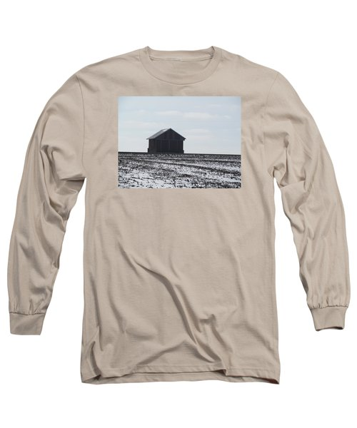 Long Sleeve T-Shirt featuring the photograph Distant Local Train Depot by Tina M Wenger