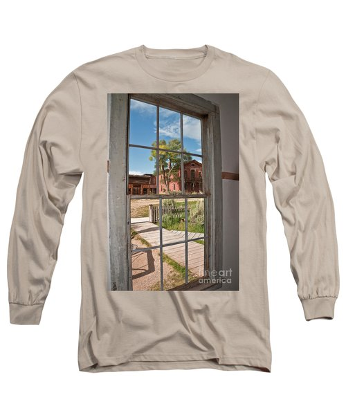 Through The Wavy Glass Long Sleeve T-Shirt