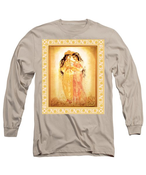 Divine Love Long Sleeve T-Shirt by Ananda Vdovic