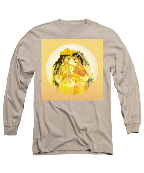 Divine Love - Detail Long Sleeve T-Shirt by Ananda Vdovic