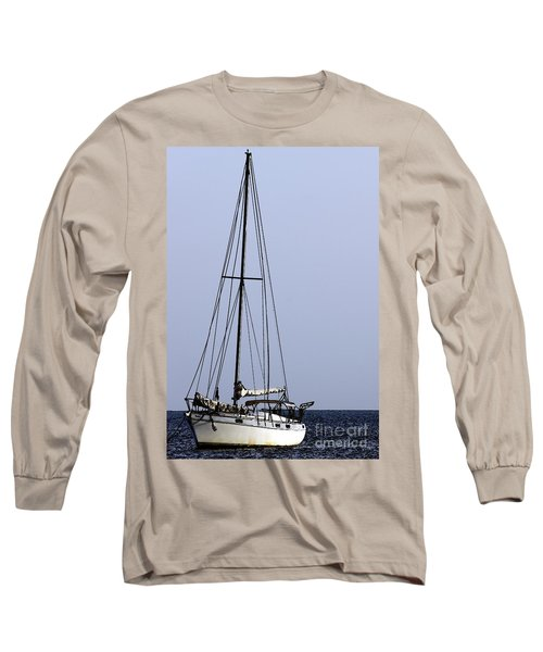 Long Sleeve T-Shirt featuring the photograph Docked At Bay by Lilliana Mendez