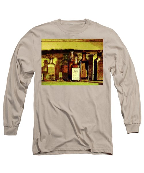 Long Sleeve T-Shirt featuring the photograph Doctor - Syrup Of Ipecac by Susan Savad