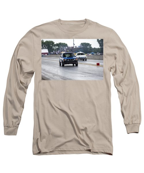 Dodge Omni Glh Vs Rwd Dodge Shadow - Without Times Long Sleeve T-Shirt
