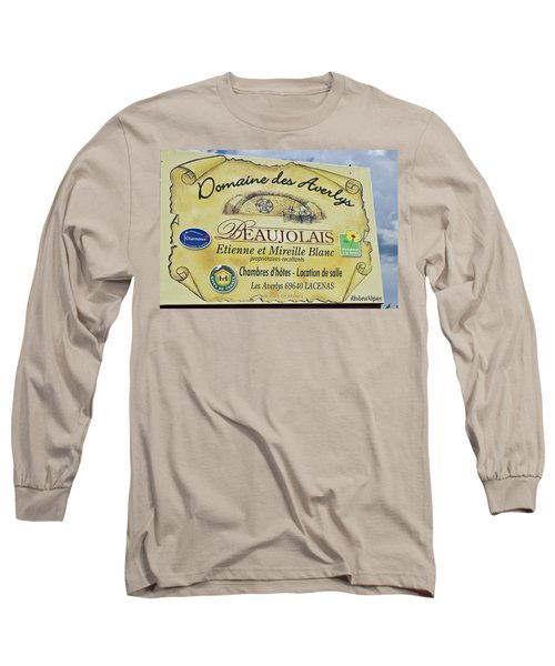 Domaine Des Averlys Long Sleeve T-Shirt