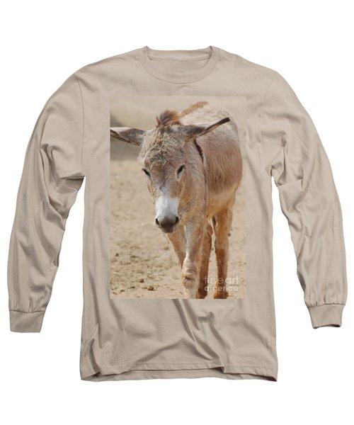 Donkey Long Sleeve T-Shirt by DejaVu Designs