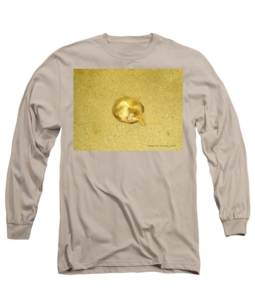Long Sleeve T-Shirt featuring the photograph Don't Let Anything In The World Bother You by Verana Stark