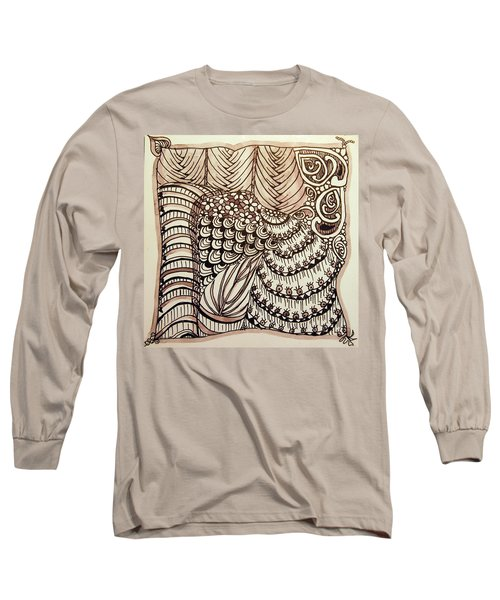 Doodling Fun Long Sleeve T-Shirt