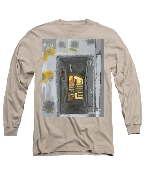 Doorway In Cinque Terra Long Sleeve T-Shirt