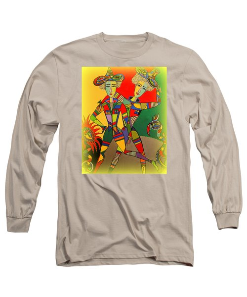 Let's Go Brother Long Sleeve T-Shirt by Marie Schwarzer