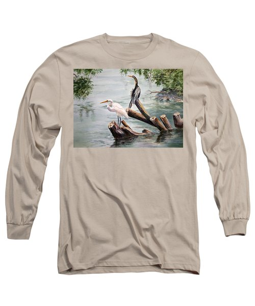 Double Trouble Long Sleeve T-Shirt by Roxanne Tobaison