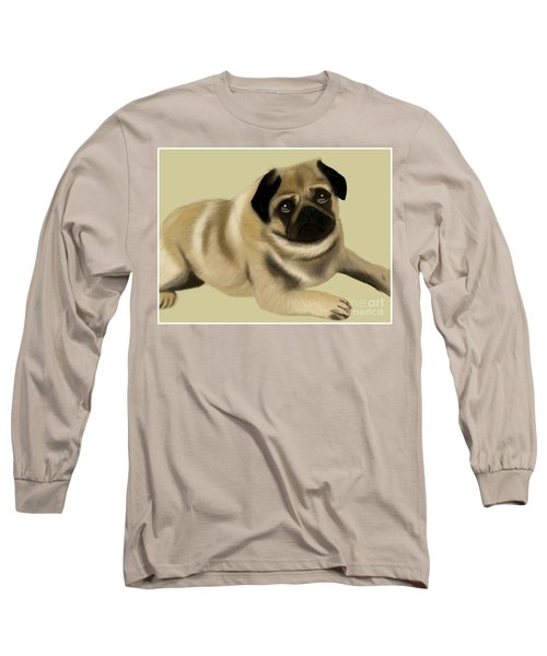 Doug The Pug Long Sleeve T-Shirt