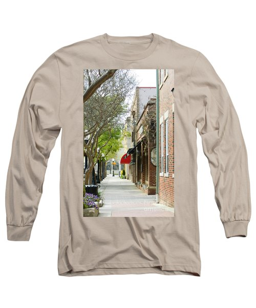 Downtown Aiken South Carolina Long Sleeve T-Shirt