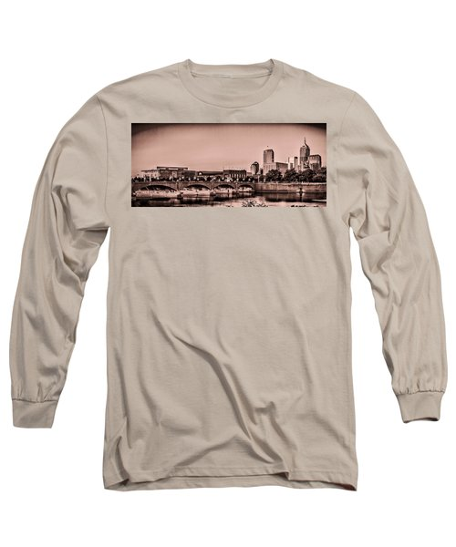 Downtown Indianapolis Long Sleeve T-Shirt