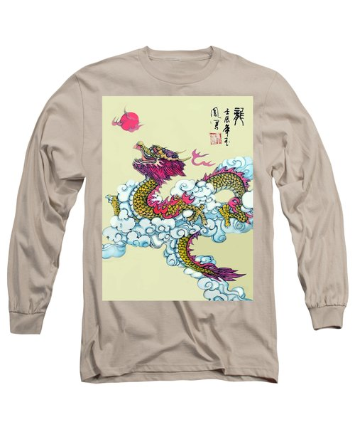 Long Sleeve T-Shirt featuring the photograph Dragon by Yufeng Wang