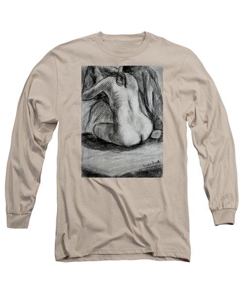 Drapery Pull Long Sleeve T-Shirt