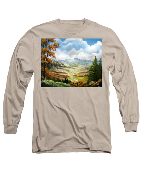Long Sleeve T-Shirt featuring the painting Dreamin On by Patrice Torrillo