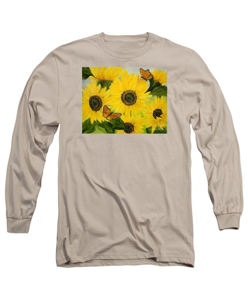 Dreaming Of Summer Long Sleeve T-Shirt by Carol Sweetwood