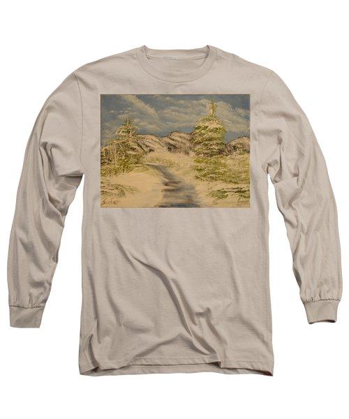 Dreams Of Snow Long Sleeve T-Shirt
