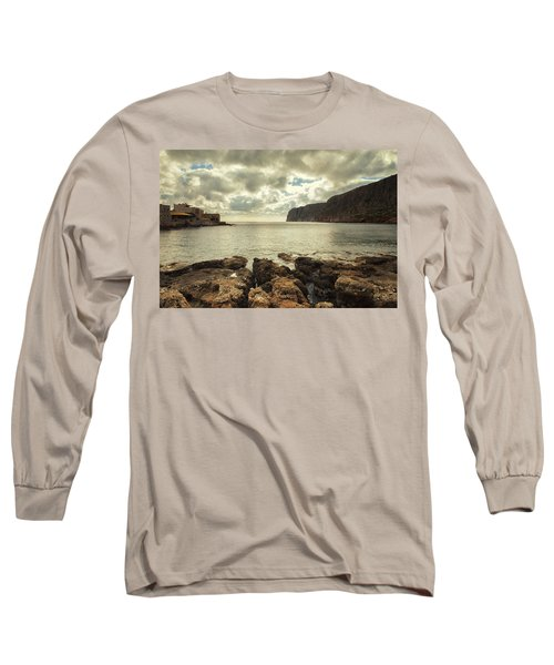 Dreamy Bay  Long Sleeve T-Shirt by Mike Santis