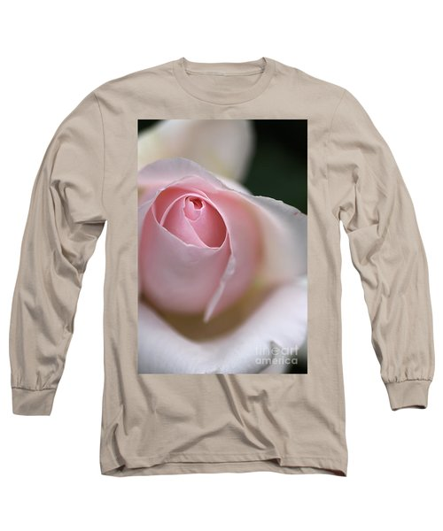 Long Sleeve T-Shirt featuring the photograph Dreamy Rose by Joy Watson