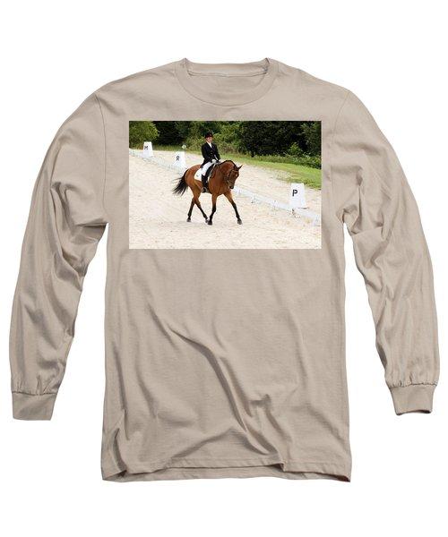Dressage Test Long Sleeve T-Shirt