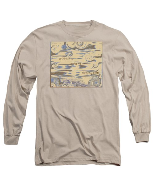Driftwood Haiga Long Sleeve T-Shirt
