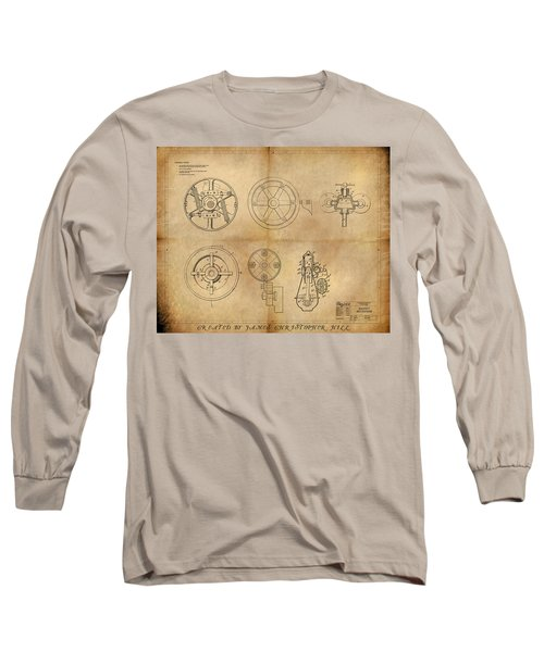 Drive Mechanism Long Sleeve T-Shirt