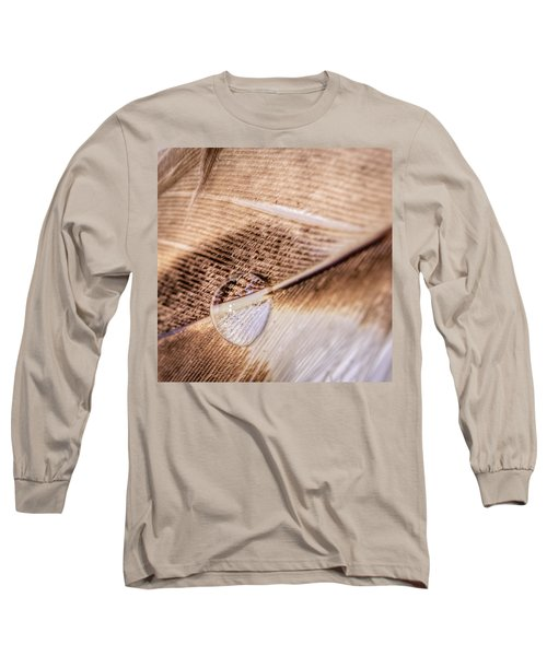 Droplet On A Quill Long Sleeve T-Shirt