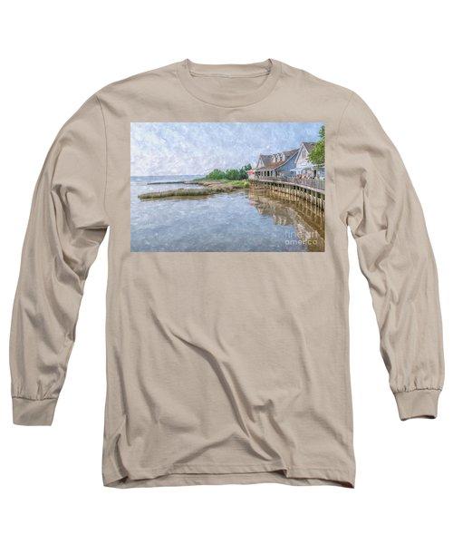 Duck Shops Outer Banks Long Sleeve T-Shirt