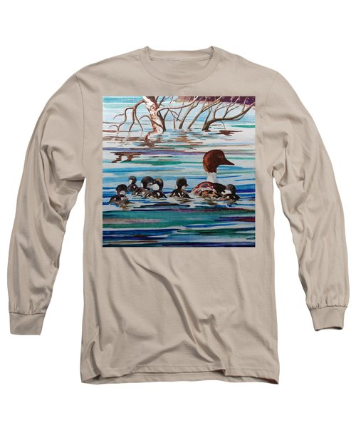 Ducks In A Row Long Sleeve T-Shirt