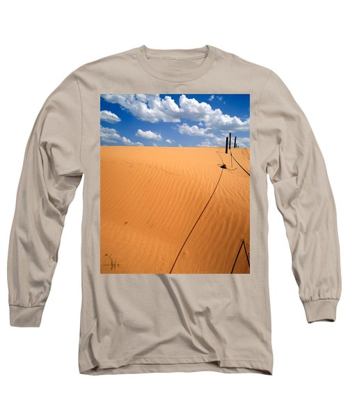 Dunes And Clouds Long Sleeve T-Shirt