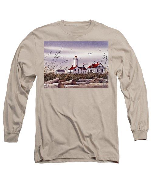 Dungeness Lighthouse Long Sleeve T-Shirt