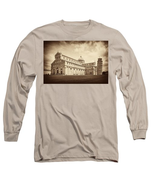 Long Sleeve T-Shirt featuring the photograph Duomo And Tower by Hugh Smith
