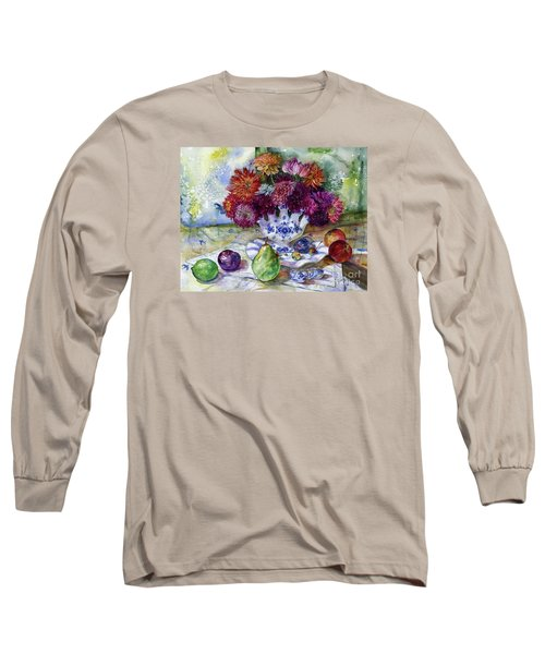 Dutch Dahlia Delights Long Sleeve T-Shirt