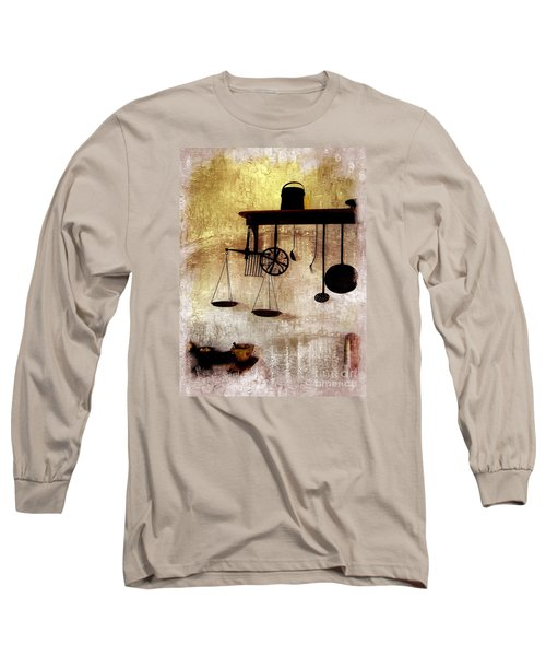 Early Kitchen Tools Long Sleeve T-Shirt
