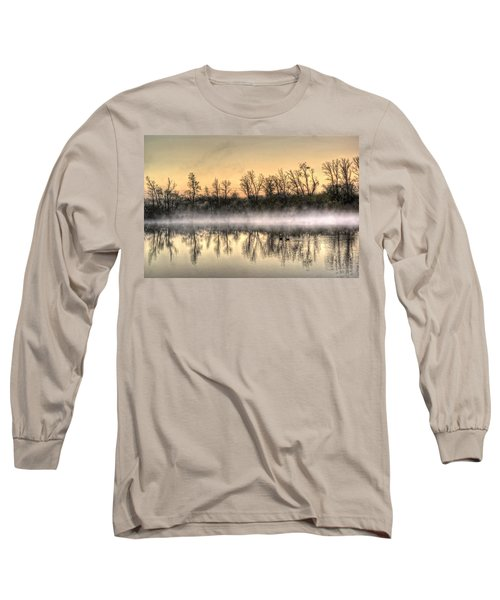 Long Sleeve T-Shirt featuring the photograph Early Morning Mist by Lynn Geoffroy