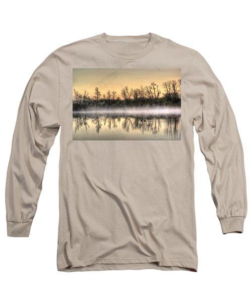 Early Morning Mist Long Sleeve T-Shirt by Lynn Geoffroy