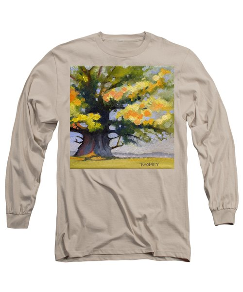 Earlysville Virginia Ancient White Oak Long Sleeve T-Shirt by Catherine Twomey