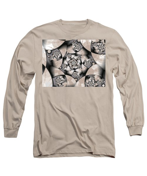 Long Sleeve T-Shirt featuring the digital art Earth Tones by Gabiw Art