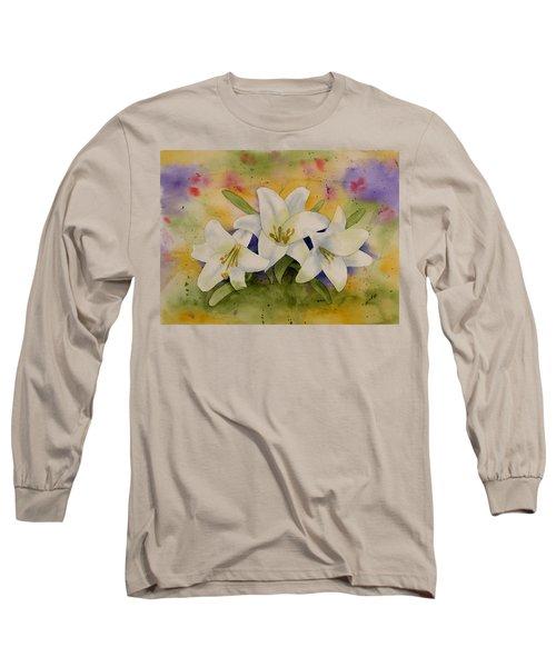 Easter Lilies Long Sleeve T-Shirt