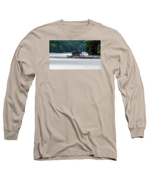 Long Sleeve T-Shirt featuring the photograph Eerie Day by Elaine Malott