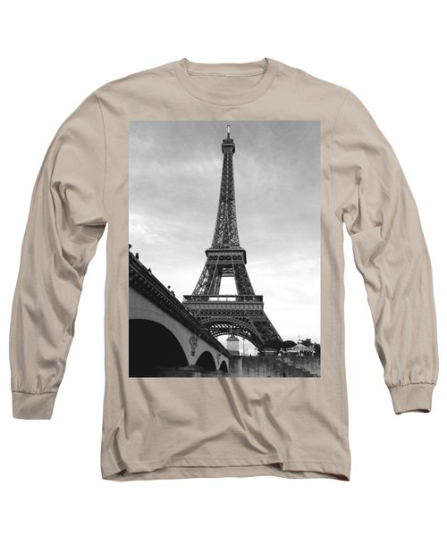 Eiffel Classic Long Sleeve T-Shirt